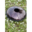 Idiopan Domina 12-Inch Steel Tongue Drum - Dark Cherry